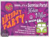 Hippie Invitations Birthday Party Hippie Birthday Party Invitations Hippy 60s themed