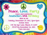 Hippie Invitations Birthday Party Hippie Party Invitations