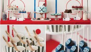 Hockey Birthday Decorations Hockey Party On Pinterest Hockey Birthday Hockey