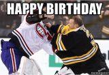 Hockey Birthday Meme Happy Birthday Hockey Goalie Meme Generator