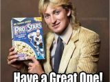 Hockey Birthday Memes Wayne Gretzky Cereal 1984 Pro Stars Cereal Commercial
