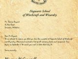 Hogwarts Birthday Invitation Template Harry Potter Invitation Letter Letters Free Sample Letters