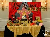 Hollywood Birthday Party Decorations Greygrey Designs My Parties Jenna 39 S Red Carpet