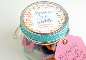 Homemade Birthday Gift Ideas For Her Message In A Bottle Graduation Idea
