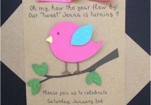 Homemade Birthday Invites Best 25 Handmade Invitations Ideas On Pinterest 1st