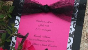 Homemade Birthday Invites Best 25 Homemade Invitations Ideas On Pinterest