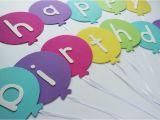 Homemade Happy Birthday Banner Ideas Happy Birthday Banner Diy Template Balloon Birthday