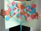 Homemade Happy Birthday Banner Ideas How to Diy Creative Happy Birthday Banner and Balloon Card