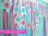Homemade Happy Birthday Banner Ideas Simple Diy Birthday Banner Tutorial