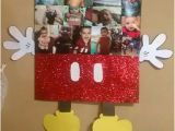 Homemade Mickey Mouse Birthday Decorations Finished W Mickey Mouse Lil Mans Picture Frame Diy