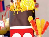Homemade Mickey Mouse Birthday Decorations Kara 39 S Party Ideas Mickey Mouse themed Birthday Party