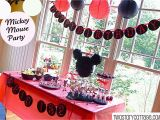 Homemade Mickey Mouse Birthday Decorations Mickey Mouse Birthday Party