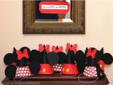 Homemade Mickey Mouse Birthday Decorations Minnie Mouse Birthday Party events to Celebrate