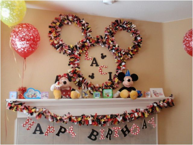 Download By SizeHandphone Tablet Desktop Original Size Back To Homemade Mickey Mouse Birthday Decorations