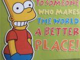 Homer Simpson Birthday Cards Paul 39 S Party Zone Bart Simpson Happy Birthday Greeting Card