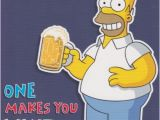Homer Simpson Birthday Cards the Simpsons Quot Homer Simpson Quot Birthday Card Ebay