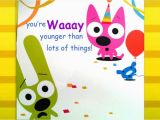 Hoops and Yoyo Birthday Cards with sound Hoops Yoyo Birthday Card You 39 Re Not Old Youtube