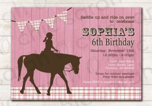 Horse Birthday Cards Free Printable Free Printable Horse Birthday Invitations Printable
