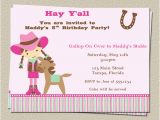 Horse Birthday Invites Free Printable Horse Birthday Party Invitations Free