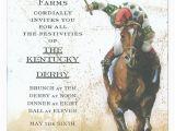 Horse Racing Birthday Invitations Horse Race Invitation Polka Dot Design