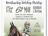 Horse Racing Birthday Invitations Winning Smiles Horse Racing Invitation Kentucky Derby