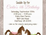 Horse themed Birthday Invitations 25 Best Ideas About Horse Birthday Parties On Pinterest