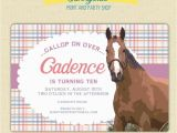 Horse themed Birthday Invitations 86 Best Birthday Party Invitations Images On Pinterest
