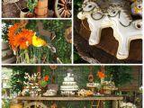 Horse themed Birthday Party Decorations Kara 39 S Party Ideas Horse themed Birthday Party Ideas