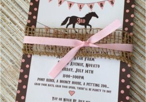 Horse themed Birthday Party Invitations Best 25 Horse Birthday Parties Ideas Only On Pinterest