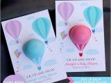 Hot Air Balloon 1st Birthday Invitations 60 Diy Hot Air Balloon Birthday Party Ideas Pink Lover