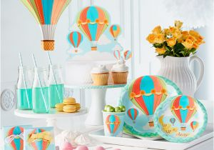Hot Air Balloon Birthday Party Decorations 1st Birthday Party theme Ideas Party Delights Blog
