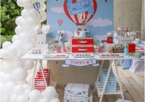 Hot Air Balloon Birthday Party Decorations 60 Diy Hot Air Balloon Birthday Party Ideas Pink Lover
