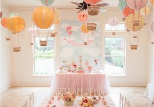 Hot Air Balloon Birthday Party Decorations 7 Sensational Adventure and Travel themed Party Ideas