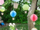 Hot Air Balloon Birthday Party Decorations Hot Air Balloon Inspired Decorations that Will Take You