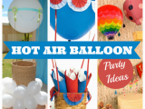 Hot Air Balloon Birthday Party Decorations Hot Air Balloon Parties Classroom Parties and 40th