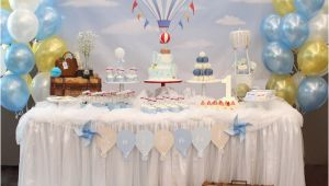 Hot Air Balloon Birthday Party Decorations Kara 39 S Party Ideas Red and Blue Hot Air Balloon Vintage
