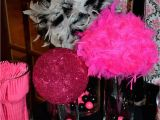 Hot Pink and Black Birthday Decorations Greygrey Designs My Parties Hot Pink Glamorous Casino
