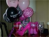 Hot Pink and Black Birthday Decorations Hot Pink and Black Bachelorette Party Ideas Photo 6 Of 7