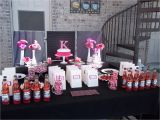 Hot Pink and Black Birthday Decorations Pink and Black Party Decorations Party Favors Ideas
