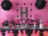 Hot Pink and Black Birthday Decorations top Baby Shower Decorating Ideas Free Printable Baby