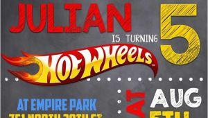 Hot Wheel Birthday Invitations Novel Concept Designs Hot Wheels Birthday Party