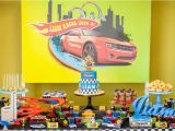 Hot Wheels Birthday Decorations Hot Wheels Birthday Party Little Wish Parties