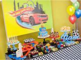 Hot Wheels Birthday Decorations Kara 39 S Party Ideas Hot Wheels Car Birthday Party Kara