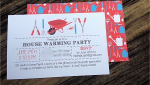 How to ask for Gift Cards On A Birthday Invitation House Warming Party Invitations