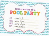 How to Create A Birthday Invitation Online Fun Kids Pool Party Invites Free Printables Online