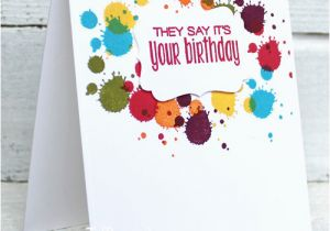 How to Create Birthday Card On Facebook How to Make Beautiful Handmade Birthday Cards I Teach