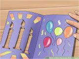 How to Create Birthday Card with Photo 3 Ways to Make Homemade Birthday Cards Wikihow