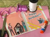 How to Create Birthday Card with Photo How to Make A Birthday Card for A One Direction Fan 7 Steps