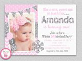 How to Create Birthday Invitations Online Free How to Create Winter Onederland Birthday Invitations Free