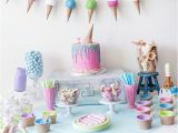 How to Decorate Birthday Party Table Kids Ice Cream Birthday Party Capturing Joy with Kristen